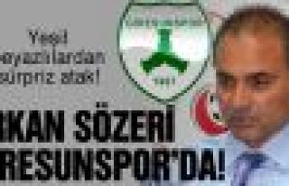 Erkan Sözeri Giresunspor'la anlaştı!