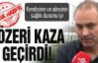 Erkan Sözeri ve ailesi kaza yaptı!