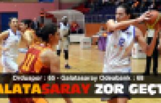 Galatasaray, Ordu'yu zor geçti!