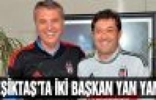 Murat Hazinedar'dan Beşiktaş Başkanı'na ziyaret