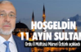 Mütfü Öztürk'den 'Ramazan' açıklaması