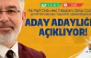 Oktay Çanak aday adaylığını açıklıyor!