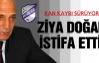 Orduspor Teknik Direktörü Ziya Doğan, istifa etti!
