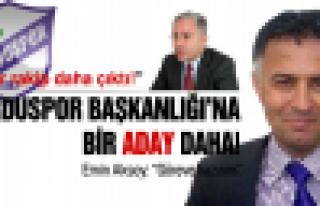 Orduspor'da bir başkan adayı daha!
