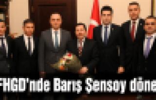 TFFHGD Başkanı Barış Şensoy oldu!
