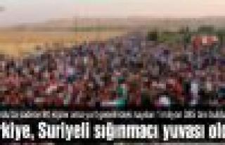Türkiye, Suriyeli sığınmacı yuvası oldu!