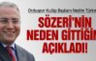 Türkmen, istifa gerekçesini açıkladı!