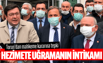 CHP'li Torun'dan mahkeme kararına tepki