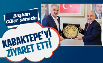 Başkan Güler'den Kabaktepe'ye ziyaret