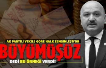AK Partili vekile göre halk zenginleşiyor!
