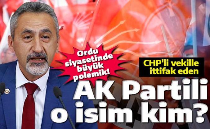 CHP'li vekille ittifak eden AK Partili kim?