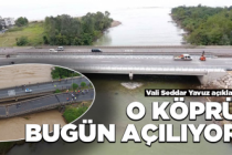 Cevizdere Köprüsü bugün trafiğe açıldı!