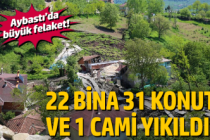 Aybastı'da büyük felaket!