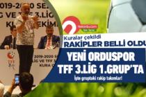 Yeni Orduspor 3.Lig 1.Grup'ta