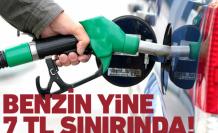 Benzinin litre fiyatı 7 TL'ye dayandı!