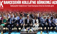 Bahçeşehir Koleji'ne görkemli açılış!