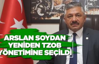 Arslan Soydan tekrar TZOB'a seçildi