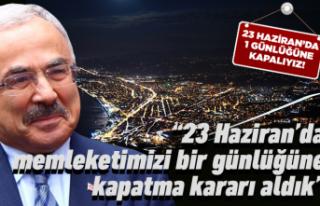 Başkan Güler'den 23 Haziran çağrısı!