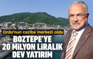 Boztepe'de 20 milyonluk yatırım yapıldı