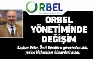 ORBEL'e Muhammet Günaydın atandı