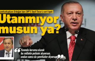 CHP'li Seyit Torun'a çok sert tepki!