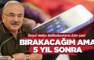 """Başkan Güler: """"5 yıl Ordu'dayım"""""""