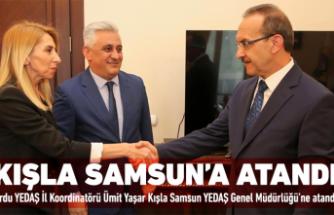 Ümit Yaşar Kışla Samsun'a atandı