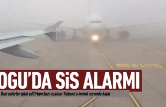 Ordu-Giresun'da sis alarmı!