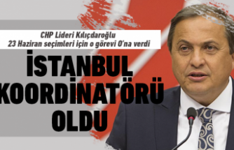 Torun CHP'nin İstanbul Koordinatörü oldu!
