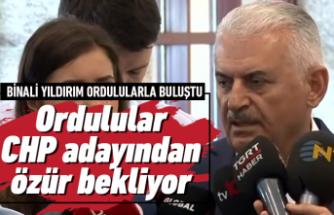 Ordulular CHP adayından özür bekliyor