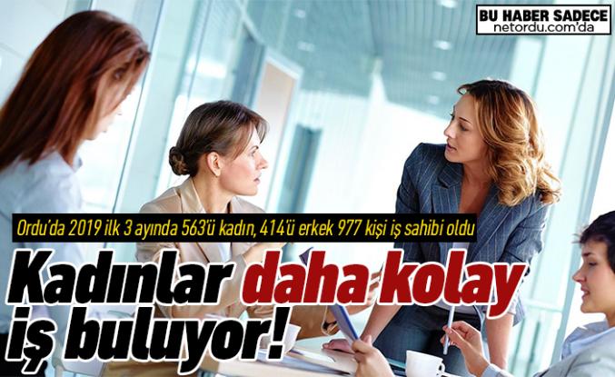 En kolay iş bulan da, en çok iş arayan da kadınlar!